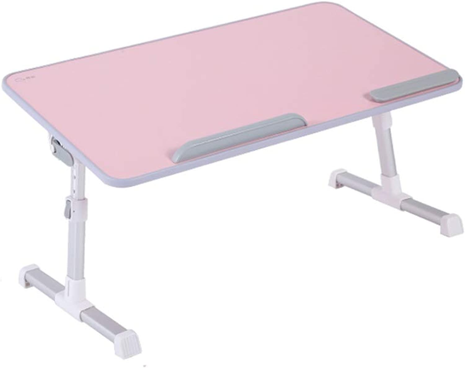 Desk, Bed Desk Can Be Raised and Lowered, Adjustable Small Table, Lazy, Learning, Folding Computer Desk Portable Table (color   A)