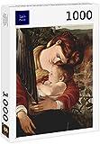 Lais Puzzle Michelangelo Caravaggio - El Resto en la huida a Egipto, Detalle: María y el Niño Jesús 1000 Piezas