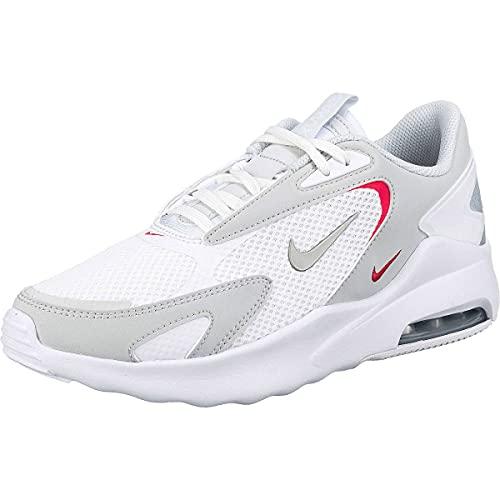 Nike Air Max Bolt Women Sneaker Schuhe (White/Grey, Numeric_40)