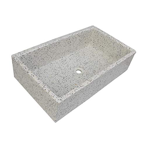 Pila, Pilón, Fregadero o Lavadero de piedra de 91x53x22 cm. (Dálmata)
