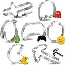 7pcs Cookie Cutters For Video Game Party Cookie Making