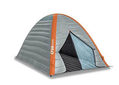 Crua Cocoon | 2 Person All Weather Insulated Breathable Family Camping Tent | Weatherproof, Warmth & Cooling Insulation | Winter/Snow/Rain & Summer/Heat, Glamping, Hunting, Camping, Hiking