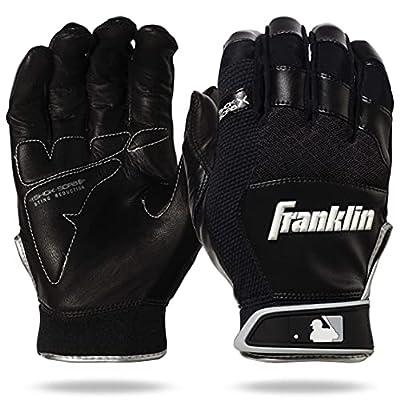 Franklin Sports MLB Shok-Sorb X Baseball Batting Gloves