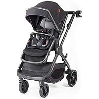 Diono 3-in-1 Luxury Multi-Mode Stroller (Black Cube)