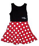 Disney Minnie Mouse Junior's Polka Dot Tank Dress (Small)