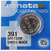 391 Watch battery - Strip of 5 Batteries