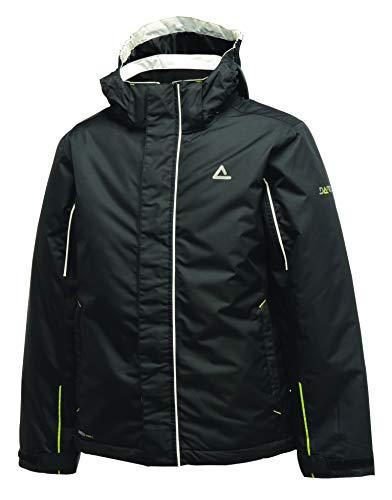 Dare2b Kinder Ski-Jacke mit Kapuze, wasserdicht und atmungsaktiv, isoliert, freundliche Farbe, Kinder, schwarz, 3-4 Jahre (EU 104)