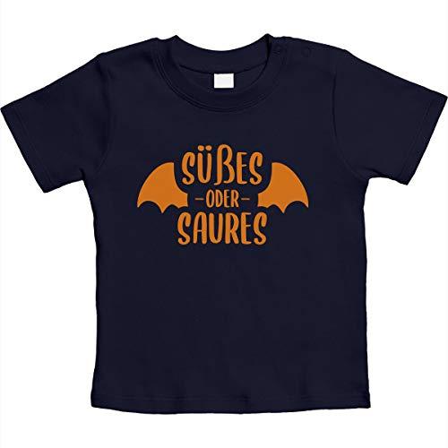 Halloween - zoete of zure vampier unisex baby T-shirt maat 66-93