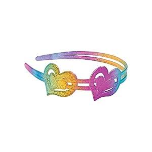 Fun Express - Bc Glitter Rainbow Headband - Apparel Accessories - Accessories - Hair Accessories - 6 Pieces