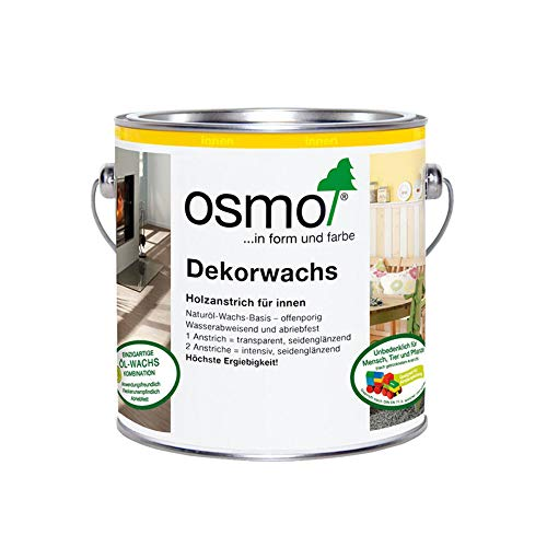 Osmo Dekorwachs Intensiv Weiß Matt 0,75 l - 10100409