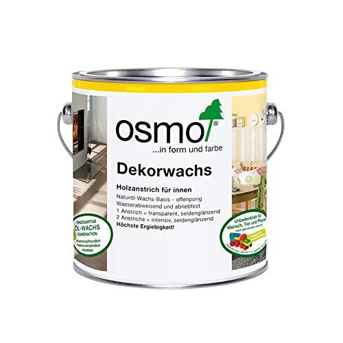 Osmo Dekorwachs Transparent Seidengrau 0,75 l - 10100344