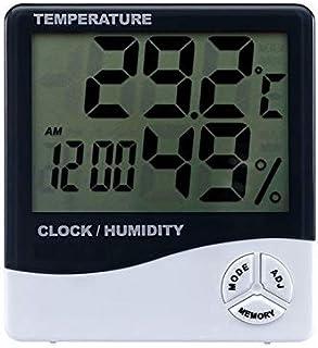 Higrómetro para Interior Termómetro higrómetro indicador indicador interior clima interior automático electrónico temperat...