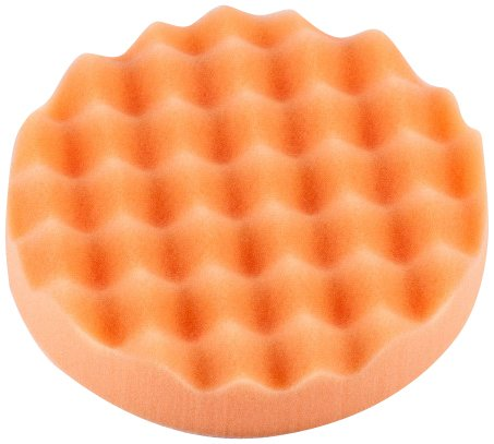 OPTIMUM (OWF2013-6.5 Waffelschaum-Pad (Fester Schnitt), Orange, 16,5 cm