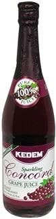 Kedem Concord Grape Sparkling Juice, 25.4 Ounce - 12 per case.