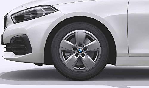 BMW Ruedas completas de invierno con radios de estrella, 517, color gris ferric, 16 pulgadas, 1er F40, 2er F44 RDCi
