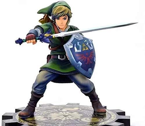 yzz 10 Pulgadas The Legend of Zelda Breath of The Wild Link Figuras de acción Figuras