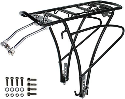 P4B | Design Gepäckträger für Ihr Fahrrad | Traveller Basic | Gepäckträger mit Universallbefestigung für 24