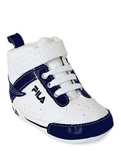 Fila Infant's Original Fitness Shoe WHT/BLK/FRED 7VF80105-122, 7.0 TD