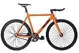 FabricBike Light - Bicicleta Fixed, Fixie, Single Speed, Cuadro y Horquilla Aluminio, Ruedas 28', 4...