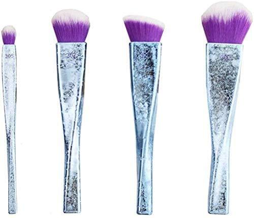 QXXNB Beauty Tools Maquillage Brush Set, Convient Aux Débutants Fard À Paupières Blush Foundation Brush 4 Pcs