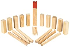 Moses 92095 Wooden Game Kubbs