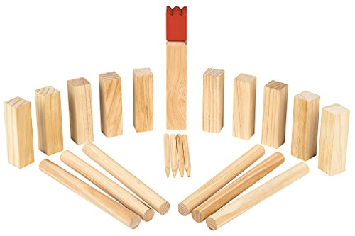 Moses Wooden Game Kubbs Bild
