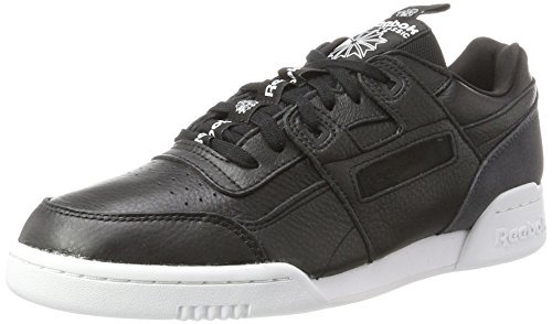 Reebok Workout Plus It, Zapatillas para Hombre, Blanco (White/Skull Grey/Black), 40.5 EU