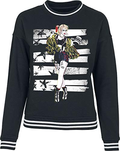 Birds of Prey Cheerleader Frauen Sweatshirt schwarz M
