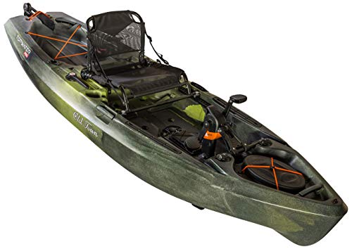 Old Town Topwater 106 PDL Pedal Drive Kayak Review
