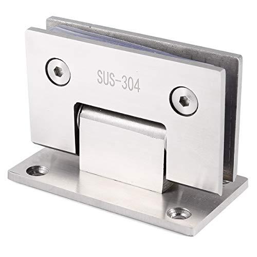 Neu 304 Edelstahl 8-12mm Glastür Scharnier Duschtür Türbeschlag Band Türbeschläge Beschlag