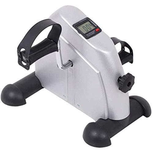 FGVBC Kurzhantel-Fitnessgeräte Haushalts-Mini-Heimtrainer, Haushalts-Handkurbelpedal, Mini-Hand- und Fuß-Rehabilitationstrainer, tragbar, Beintraining,