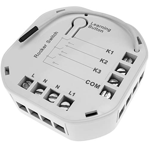 Cablematic - Módulo inalámbrico Z-Wave 6A 230VAC 3X