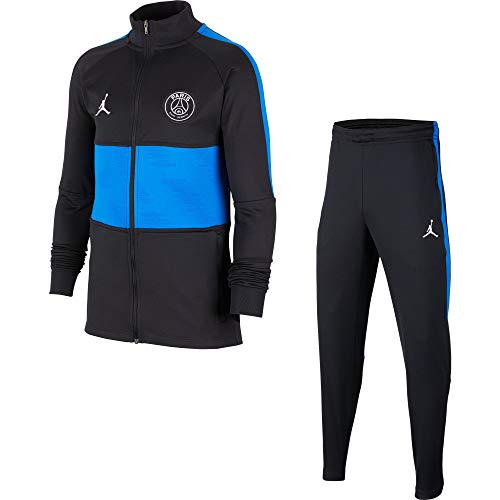 NIKE PSG Ynk Dry Strk TRK Suit K4th Chándal, Unisex niños, Black/Black/Hyper...