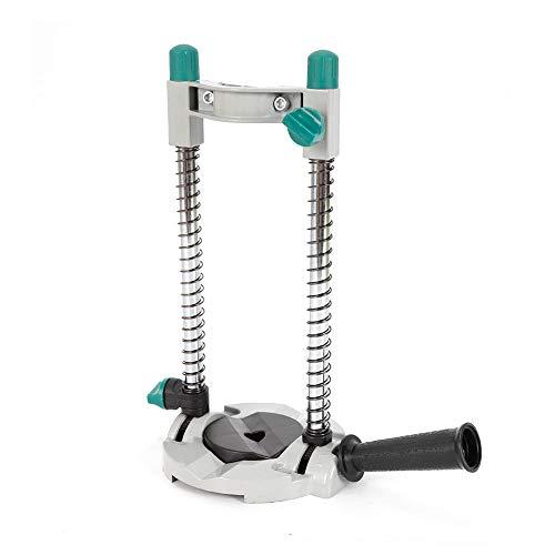 Preisvergleich Produktbild OUKANING Bohrständer Mobiler Bohrständer Bohrhilfe Ständer für Bohrmaschine Ø42.5 mm 45° Einstellbar