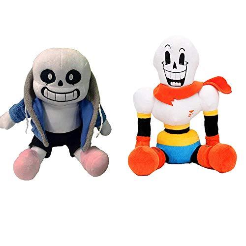 kidsheaven Undertale Plush Toys 2pcs of Sets Sans and Papyrus Stuffed Toy