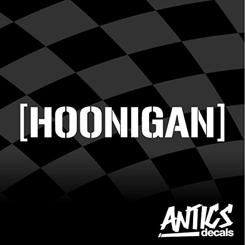 Hoonigan Vinyl Decal