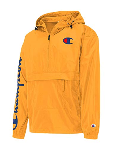 Champion Men's Packable Jacket, C Gold, Large
