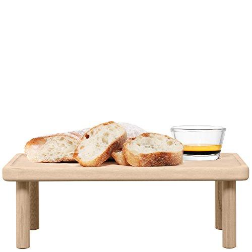 LSA International - Supporto per pane e olio, 35,5 cm, colore: frassino