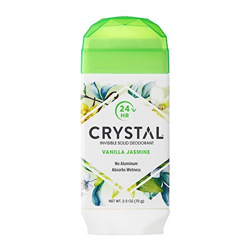Crystal Body Deodorant Crystal Natural Deodorant Stick, Vanilla Jasmine 2.5 Oz