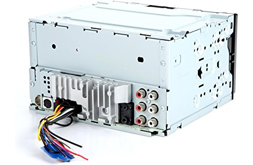 Pioneer MVH-X690BS Vehicle Digital Media 2DIN Receiver w/Enhanced Audio Functions, Black & SiriusXM SXV300V1 Tuner & Antenna (SiriusXM Value Bundle)