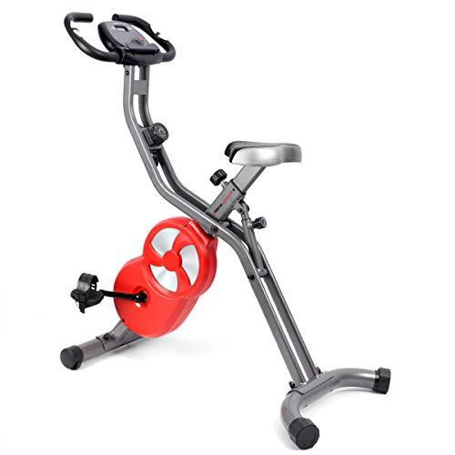 Ultrasport F-Bike Professional Hometrainer, speedbike, fietstrainer, ergometer, fitnessfiets met trainingscomputer en handpulssensoren, spinning bike, fitness bike