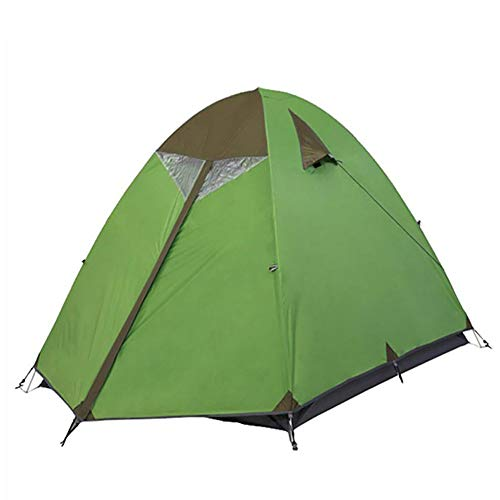 ZLZL Outdoor Tent Vierpersoons 2-laags Aluminium Paal Tent Outdoor Camping Multi-Person Tent