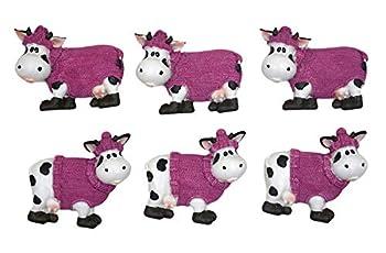 6pcs/set Cow Refrigerator Magnets/Cow Fridge Magnets/Toy Fridge Magnet/Message magnets