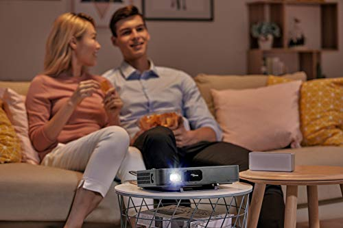 OPTOMA TECHNOLOGY LH200 - Proyector LED 2000 lúmenes, Full HD 1080p, 200000:1 Contraste, Formato 16:9 miniatura