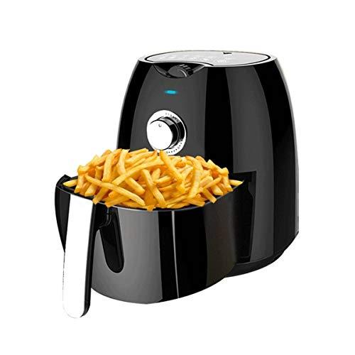 Sale!! RJJX Home 1300W Electric Deep Fryer Air Fryer 4.5L Big Capacity Digital LED Touch Screen Time...