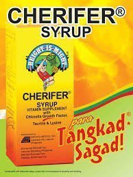 CHERIFER Syrup with Chlorella Growth Factor, Taurine & Lysine 120ml by Cherifer