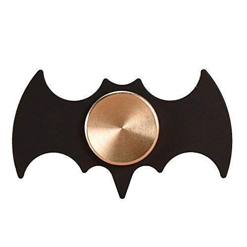 HBBOOI Forma mano Spinner Bat estrés metal del dedo del juguete del girocompás Reductor mano Spinner juguete adulto anti divertido Estrés Juguetes dedo de adulto descompresión Artefacto contra la ansi