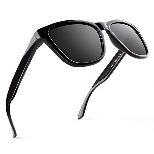 GQUEEN TR90 Polarisierte Sonnenbrille Herren Damen Leichtgewicht 100% UV Schutz MO90