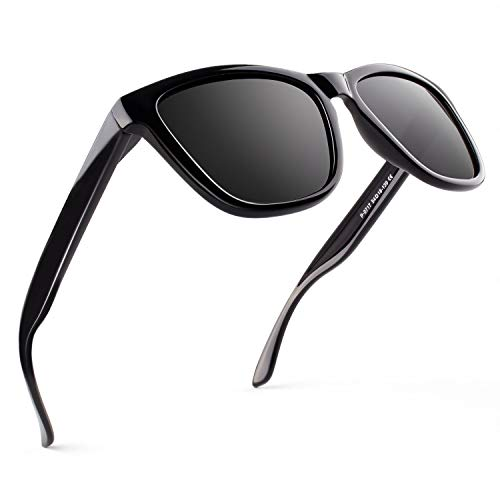 GQUEEN Gafas de Sol Polarizadas para Hombre Retro Mujer Gafas Sol MS07 …