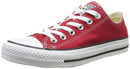 Converse, All Star Ox Canvas Seasonal, Sneaker, Unisex - adulto, Rojo - Rouge (Rouge Brique), 40